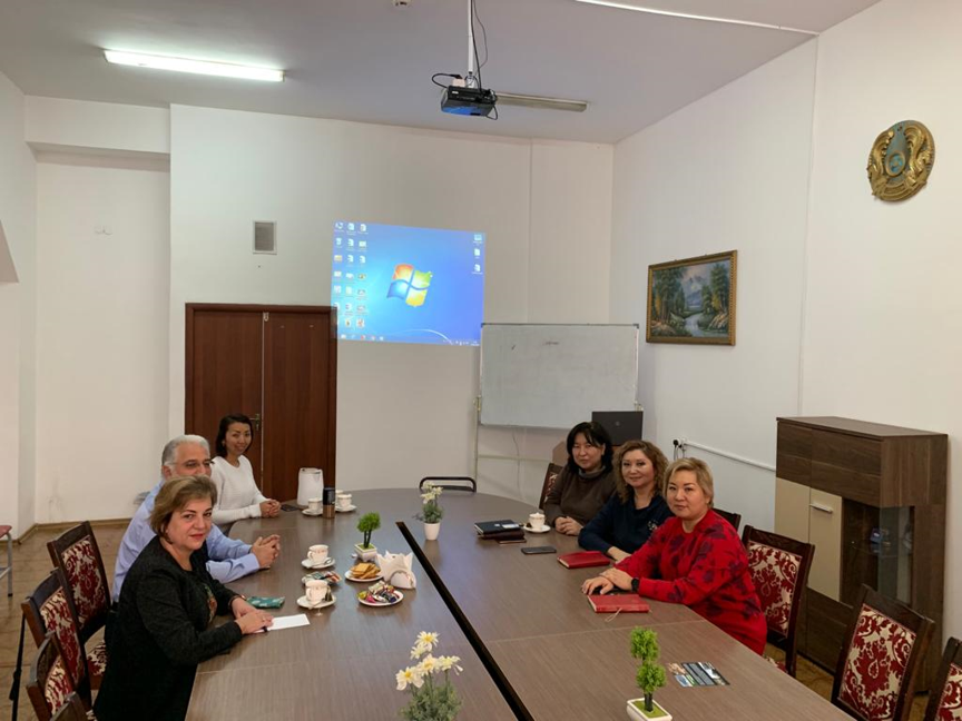 Meeting with administration of the Faculty of Medicine and Health Care and Department of Epidemiology, Biostatistics and Evidence-based Medicine